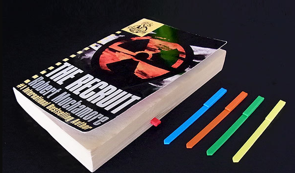 3D Printed Book Markers