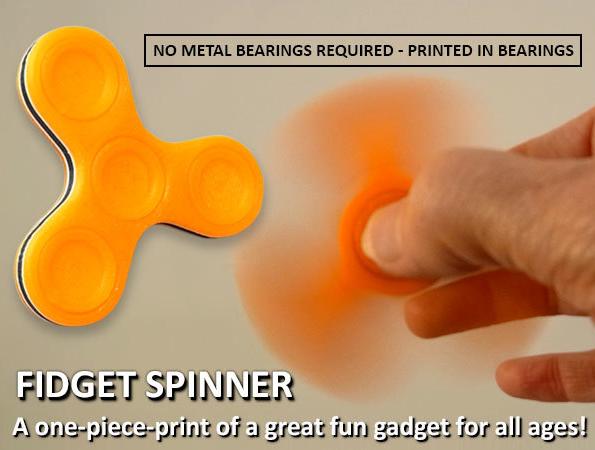 3D Printed Fidget Spinner