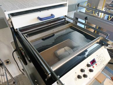 Thermoform on the Vacuum Table