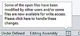 Opened Files In SOLIDWORKS