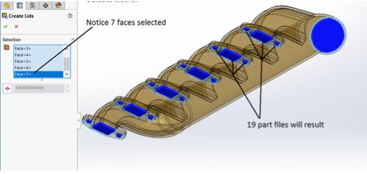 Properties of the Lid Tool
