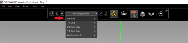 Base Configuration Color Settings