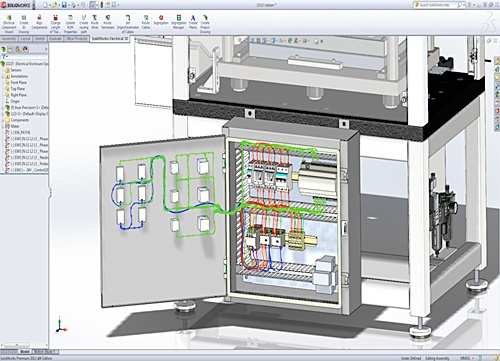 SOLIDWORKS Electrical drawing