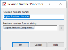 Revision Number Properties