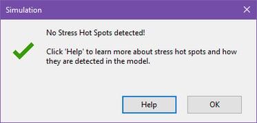 Hot Spots Not Detected