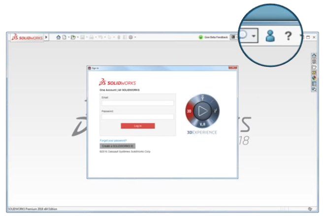 SOLIDWORKS 2018 product introduces Online Licensing