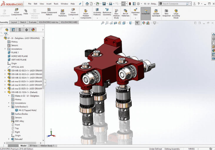 SOLIDWORKS 2018 Upgrade Features