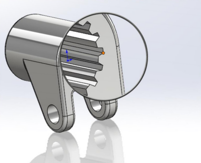SOLIDWORKS Magnifying Glass Shortcut