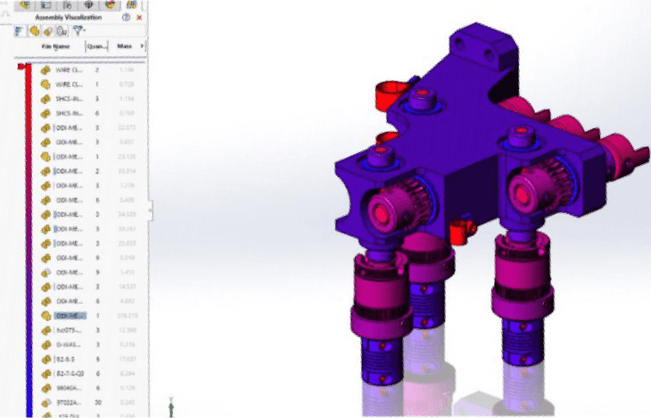 SOLIDWORKS Assembly Visualization advancements