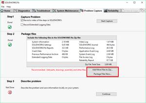 SOLDIWORKS Rx Package Files Now