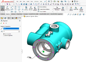 Segment Sketching Tool in SOLIDWORKS