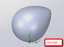 High Hair Simulation