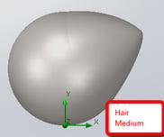 Medium Hair Simulation