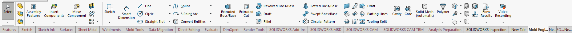 Custom CommandManager tabs