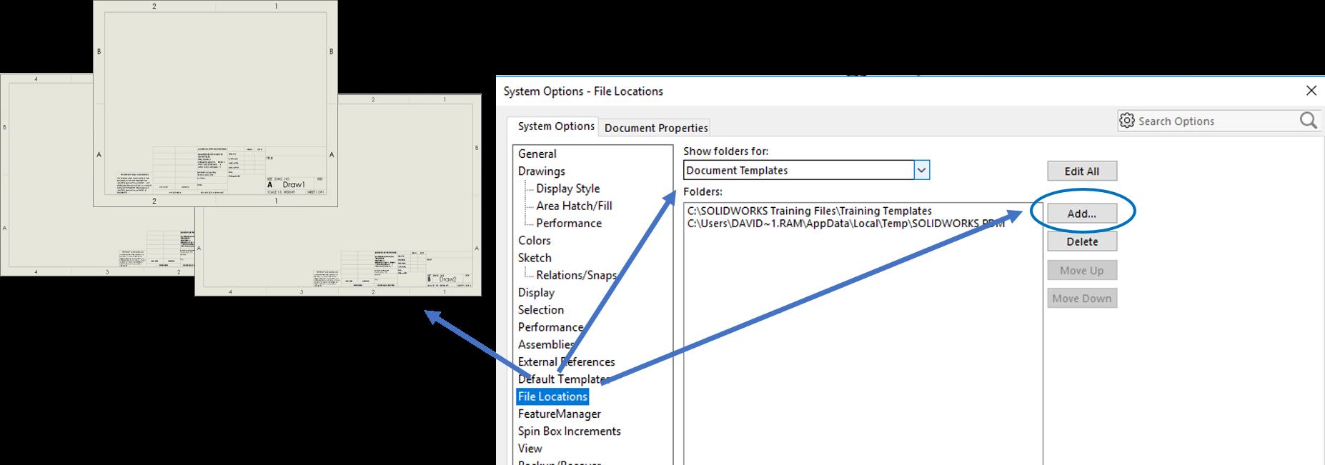 Custom File Locations