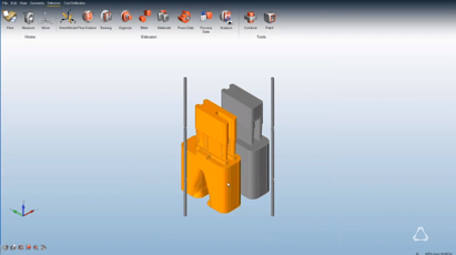 Load Orientation in Altair Inspire Extrude Metal