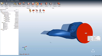 Process Data and Run Analysis in Altair Inspire Extrude Polymer