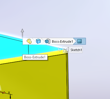 BreadCrumbs in SOLIDWORKS
