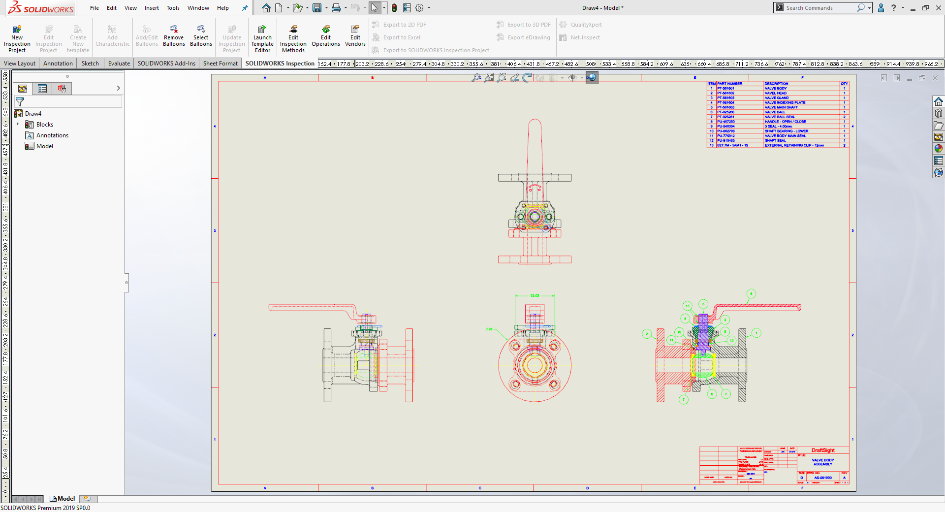 Embed the native DWG/DXF file within SOLIDWORKS