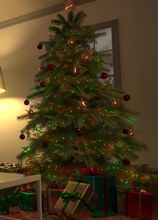 Visualize Tree Rendered