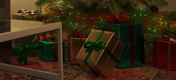 Visualize Presents Rendered