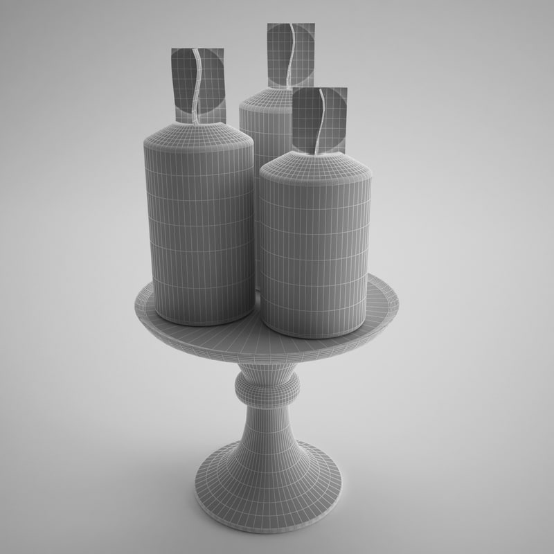 Visualize Candle Mesh