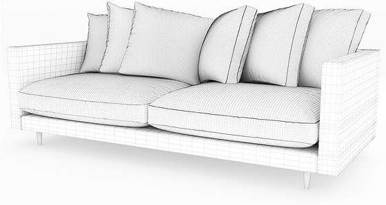 Visualize Couch Mesh