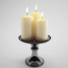 Visualize Candle Rendered