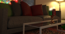 Visualize Couch Rendered