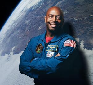 Leland Melvin, NASA astronaut and NFL player