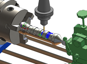 CAMWorks Turning in SOLIDWORKS