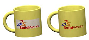 Mugs with SOLIDWORKS Decal