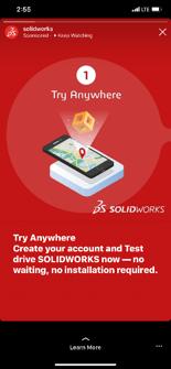 SOLIDWORKS On Smartphone Beta