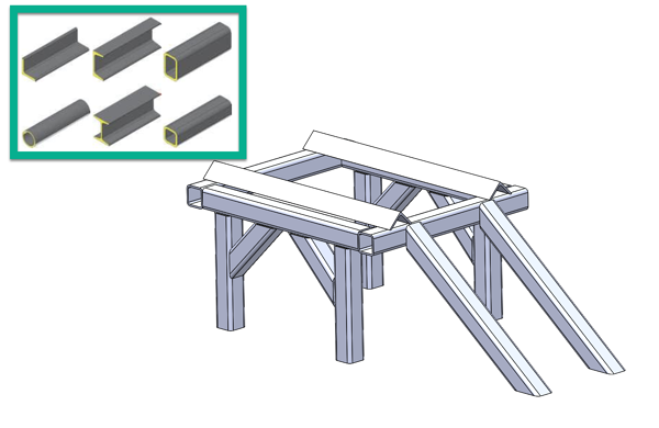 solidworks weldment profiles