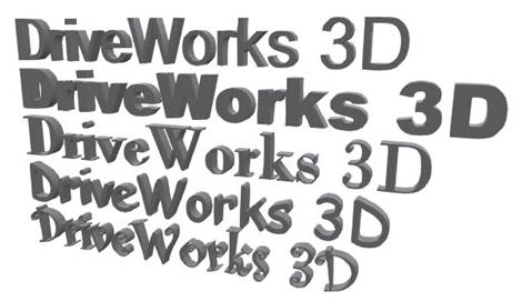 3D Text Entity