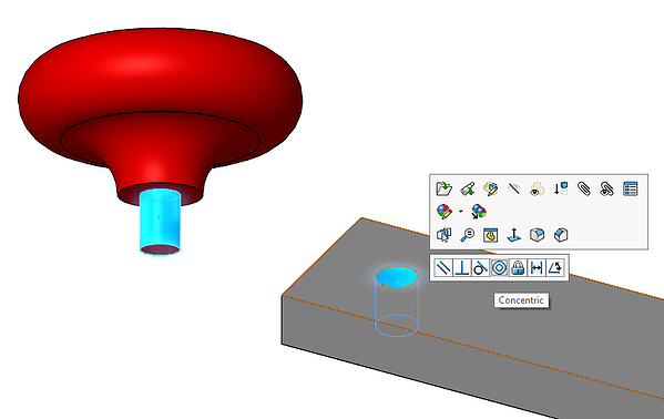 Select mate  reference in SOLIDWORKS