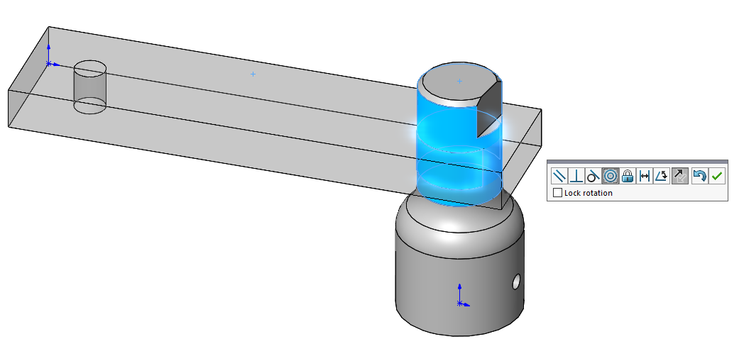 Smart Mates in SOLIDWORKS