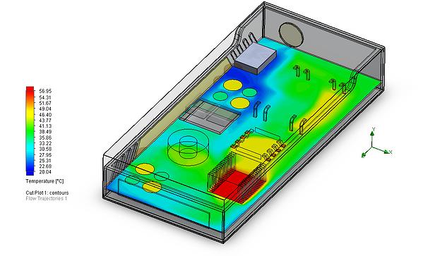 SOLIDWORKS Flow Simulation Thermal Analysis