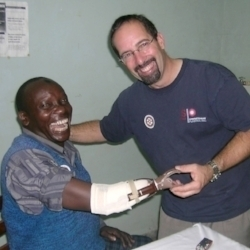 Michael Mendonca, Founder of The Ellen Meadows Prosthetic Hand Foundation
