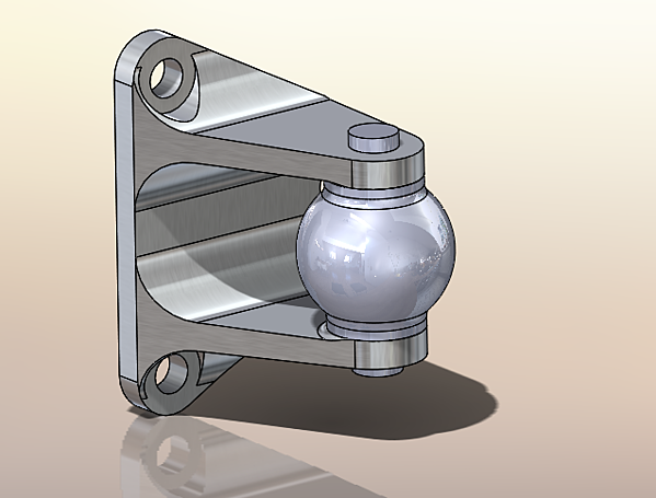 Steering Bracket in SOLIDWORKS