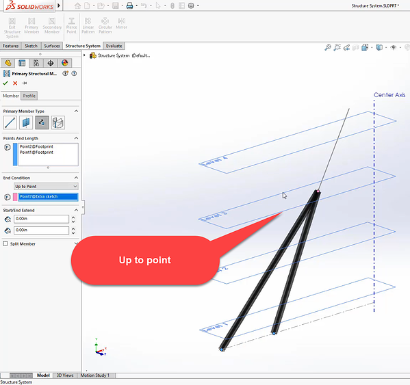 Sketch segment direction in SOLIDWORKS 2020