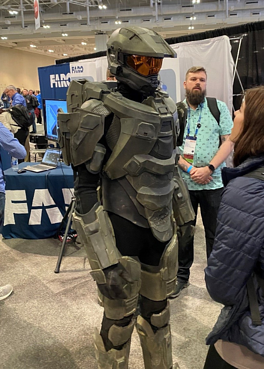 Master Chief 3DXW20