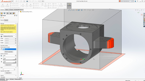 Preparing your Print in SOLIDWORKS