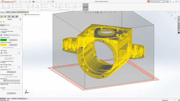 Visualizing your print in SOLIDWORKS 2020