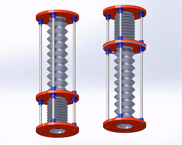 Pivot ball housing in SOLIDWORKS 2020