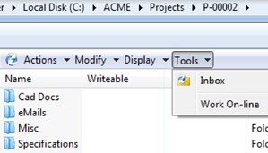 Working offline with SOLIDWORKS PDM Professional