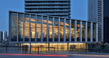 Fort York Library in Canada