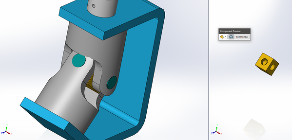 Component preview in SOLIDWORKS