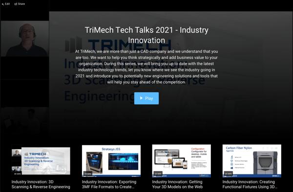TriMech Tech Talks 2021