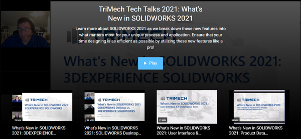 TriMech Tech Talks 2021: What's New in SOLIDWORKS 2021 Webinars